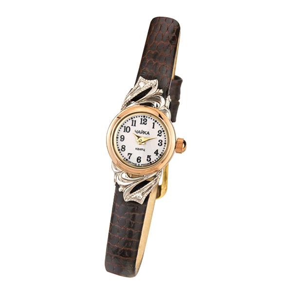 Женские золотые часы «Виктория» Арт.: 97050-146.105