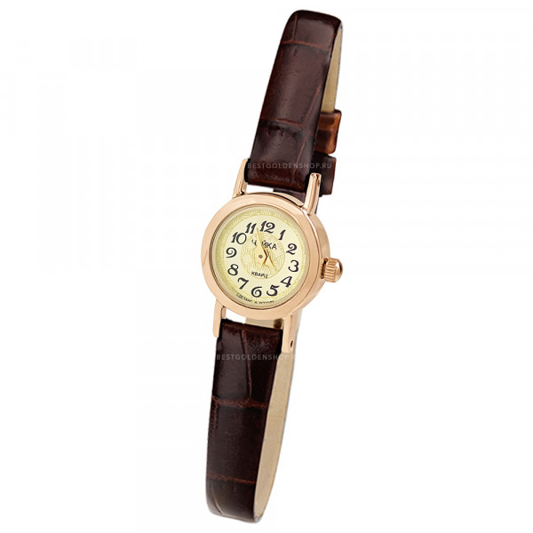 Женские золотые часы «Виктория» Арт.: 97050.447
