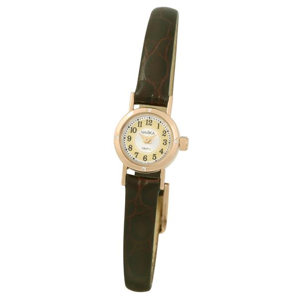 Женские золотые часы «Виктория» Арт.: 97051A.449