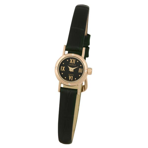 Женские золотые часы «Виктория» Арт.: 97051A.516