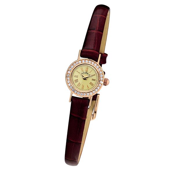 Женские золотые часы «Виктория» Арт.: 97056-2.420
