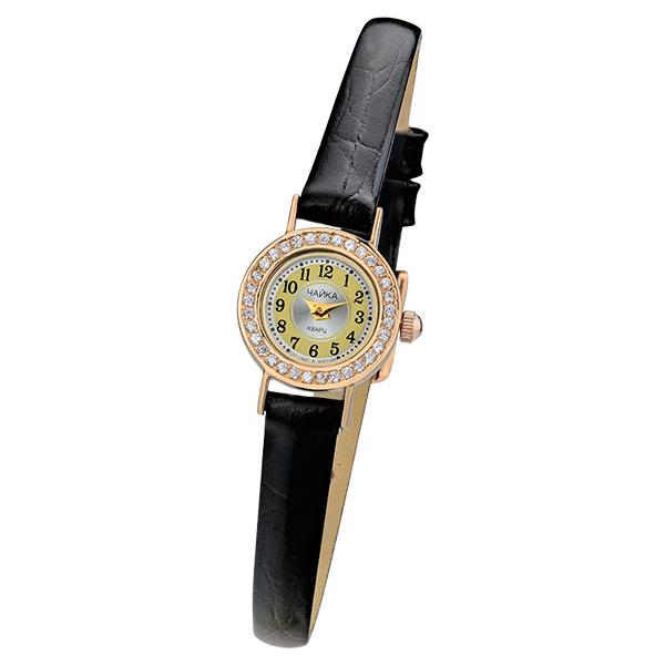 Женские золотые часы «Виктория» Арт.: 97056-2.449