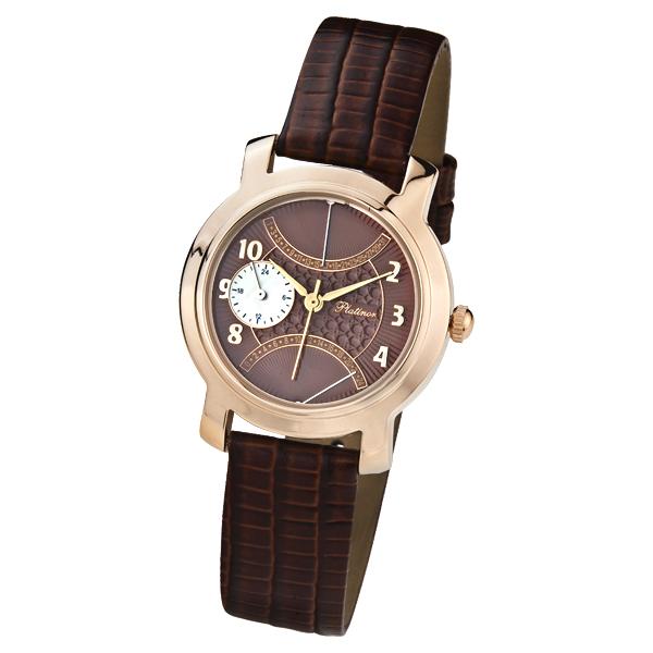 Женские золотые часы «Оливия» Арт.: 97350.728