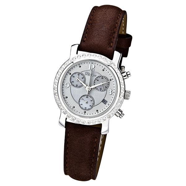 Женские серебряные часы «Оливия» Арт.: 97506A.213