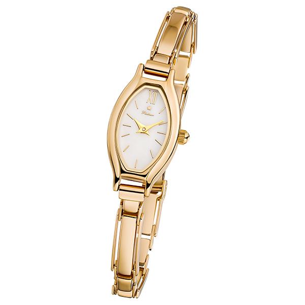 Женские золотые часы «Лаура» Арт.: 98050.116 на браслете арт.: 50246