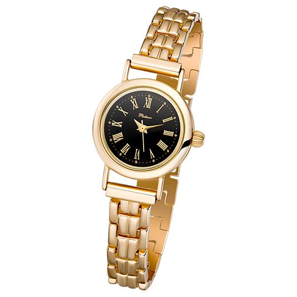 Женские золотые часы «Ритм» Арт.: 98130-2.515 на браслете 53274