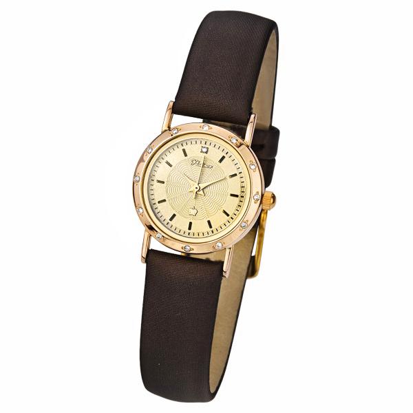 Женские золотые часы «Ритм» Арт.: 98151A.404