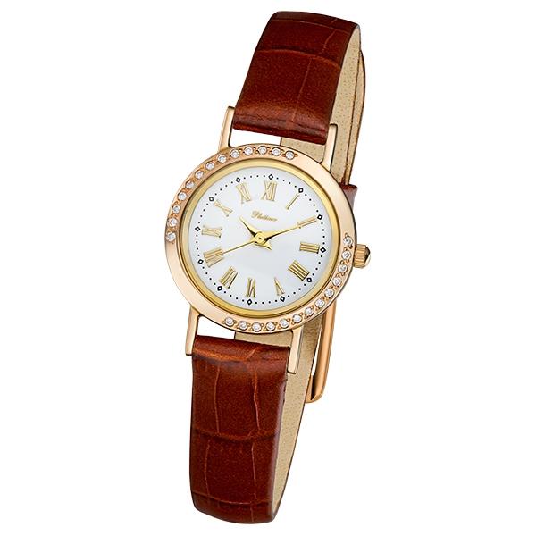 Женские золотые часы «Ритм» Арт.: 98151Б-2.418
