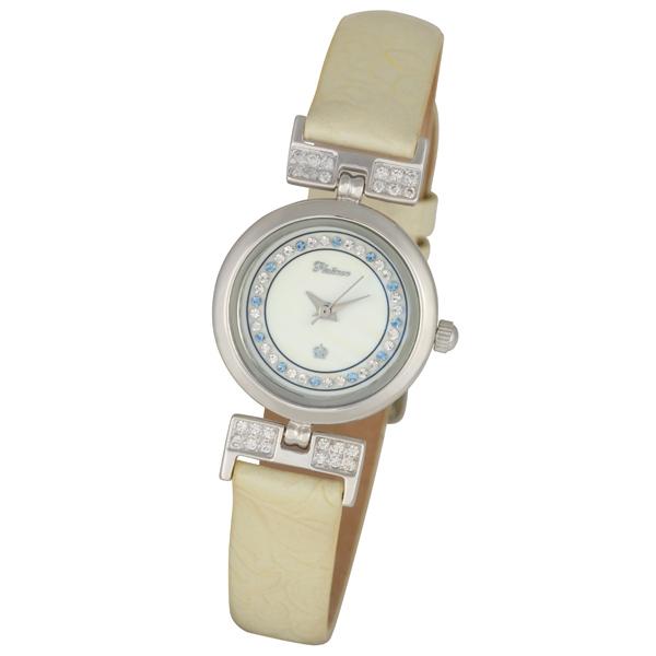 Женские серебряные часы «Ритм 2» Арт.: 98206.326