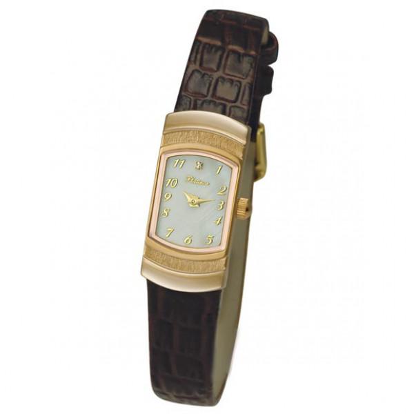 Женские золотые часы «Любава» Арт.: 98350.305