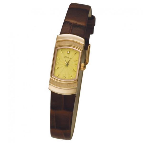 Женские золотые часы «Любава» Арт.: 98350.412