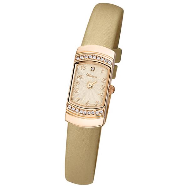 Женские золотые часы «Любава» Арт.: 98356.411