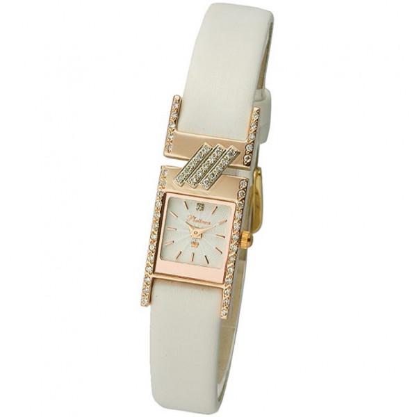 Женские золотые часы «Моника» Арт.: 98851-5.104