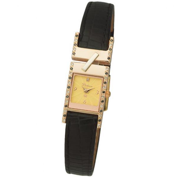 Женские золотые часы «Моника» Арт.: 98855-3.412