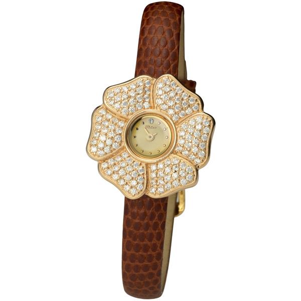 Женские золотые часы «Амелия» Арт.: 99356-2.401
