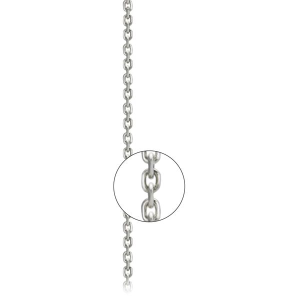 Серебряная цепь «Форсе алмаз», арт.: 800200