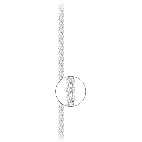 Серебряная цепь «Лав», арт.: 801500Р 0.60/40