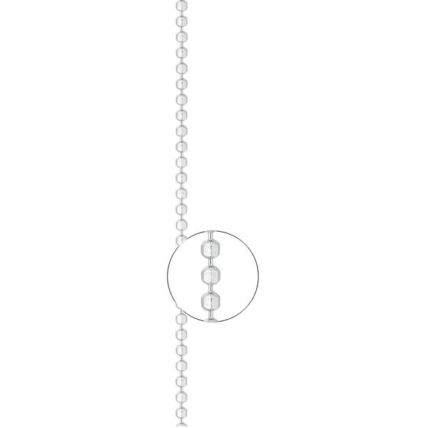 Серебряная цепь «Шарик», арт.: 801900Р 1.50/40