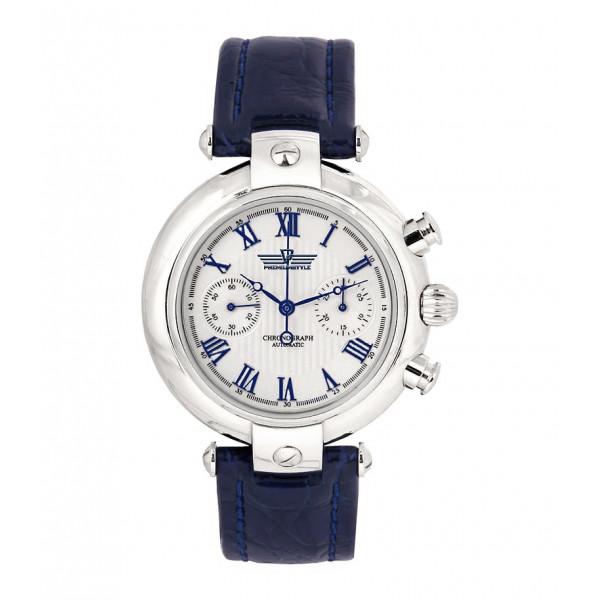 """Мужские серебряные часы """"Полет-Стиль"""", арт.: 3140/444.1.226"""